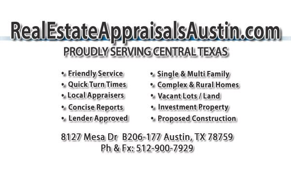 Austin Real Estate Appraiser