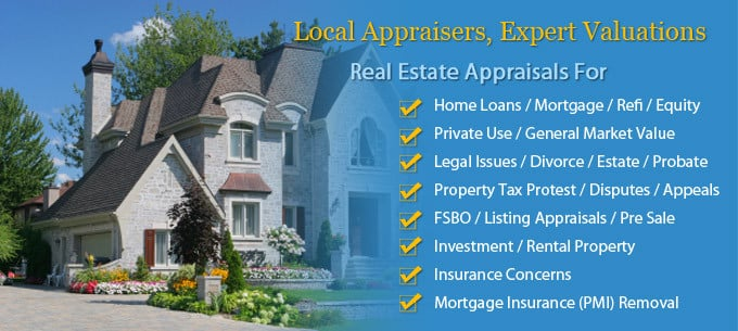 Real estate appraisals austin home appraisers local for What do home appraisers look for