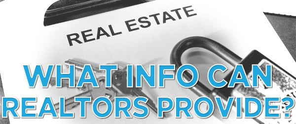 what documentation can realtors provide to an appraiser